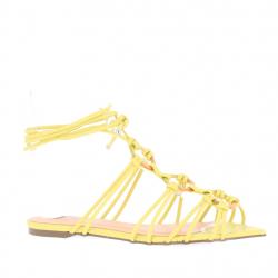 sandales plates à nouer...