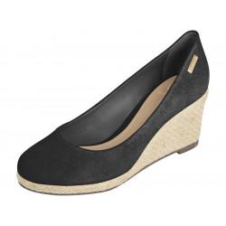 chaussure compensée nubuck...