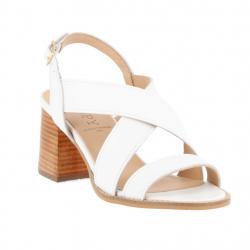 sandales brides croisées à...