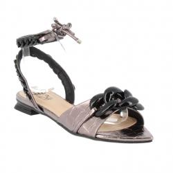 sandales plates bouts...