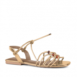 sandales plates multibrides...