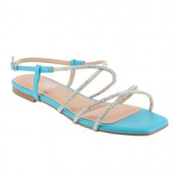 sandales plates bride...