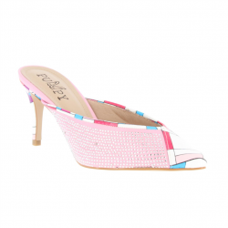 mules pointues pu et strass...