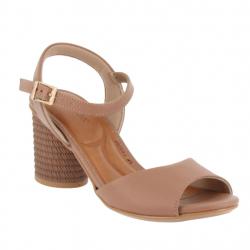 sandales confort à talons...