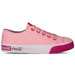 tennis coca-cola toile rose