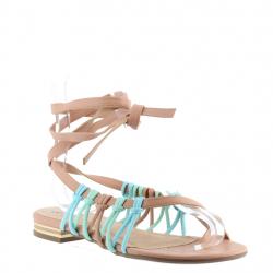sandales plates...