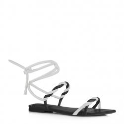 sandales plates sans...